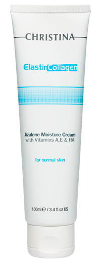 Elastin Collagen Azulene Moisture Cream with Vit. A, E & HA