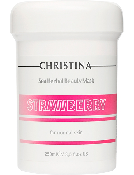 Sea Herbal Beauty Mask Strawberry 250ml